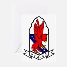 Attack Squadron 22 Greeting Cards (Pk of 10)
