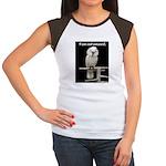 I am not amused. Women's Cap Sleeve T-Shirt