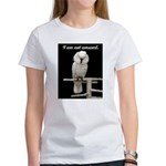 I am not amused. Women's T-Shirt