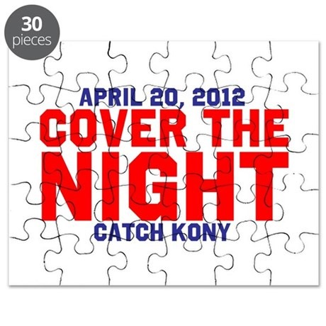 Cover The Night Kony Puzzle