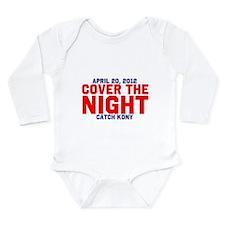Cover The Night Kony Long Sleeve Infant Bodysuit