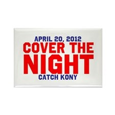 Cover The Night Kony Rectangle Magnet
