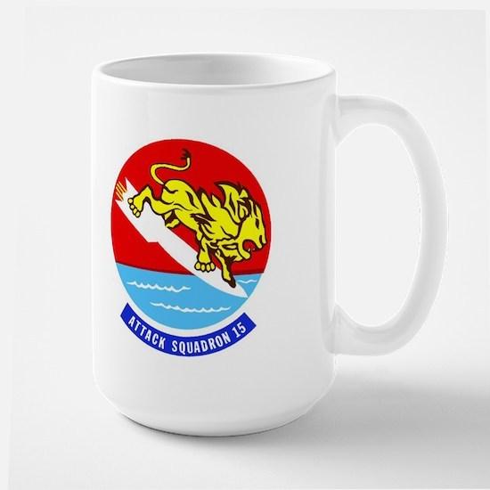 Attack Squadron 15 Valions Large Mug