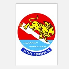 Attack Squadron 15 Valions Postcards (Pack of 8)
