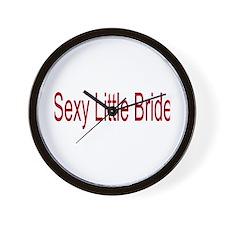 Sexy Little Bride/Bachelorett Wall Clock
