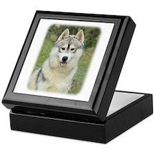 Siberian Husky 9L69D-14 Keepsake Box