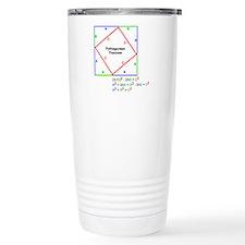 Pythagorean Theorem Proof Travel Mug