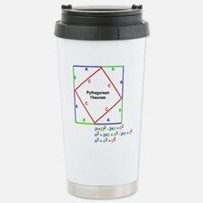 Pythagorean Theorem Proof Travel Mug