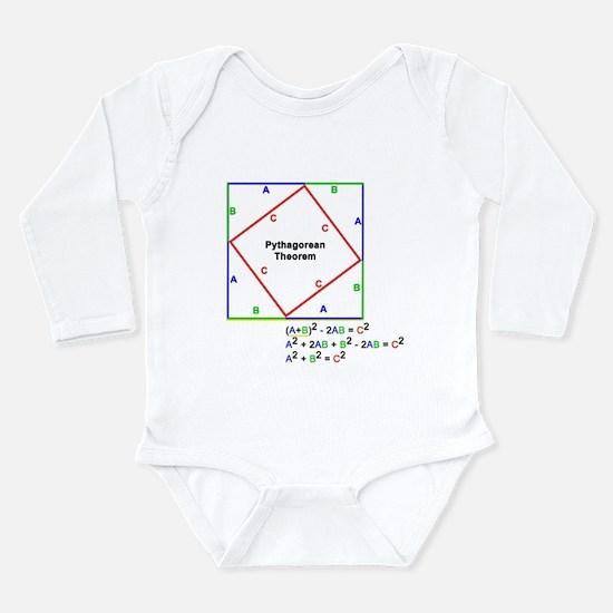 Pythagorean Theorem Proof Long Sleeve Infant Bodys