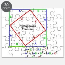 Pythagorean Theorem Proof Puzzle