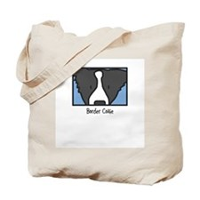 Anime Border Collie Tote Bag