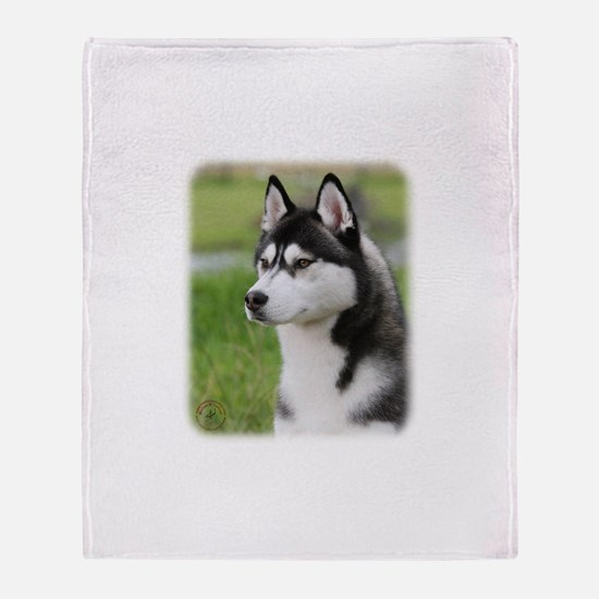 Siberian Husky 9Y570D-006 Throw Blanket