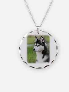 Siberian Husky 9Y570D-006 Necklace