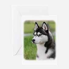 Siberian Husky 9Y570D-006 Greeting Card