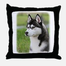Siberian Husky 9Y570D-006 Throw Pillow