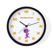 Purple N.E.L.F Wall Clock