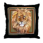 African Animals Throw Pillow