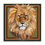 African Animals Tile Coaster