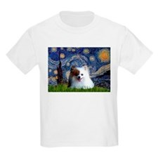 Starry Night Red-White Parti T-Shirt