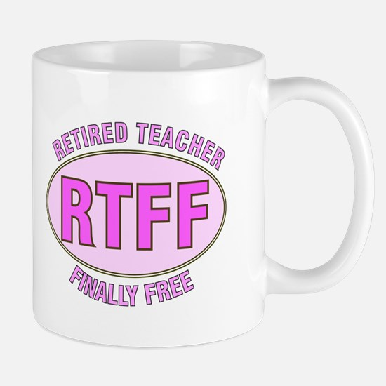 Retired Teacher IV Mug