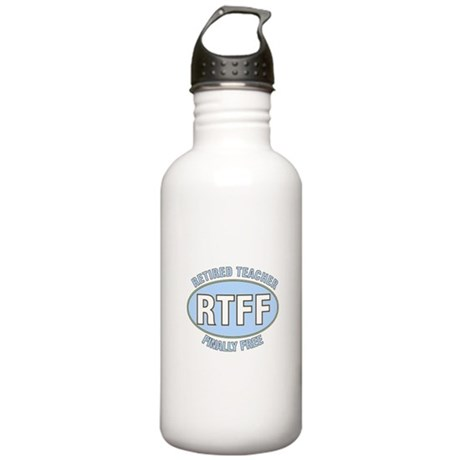Retired Teacher IV Stainless Water Bottle 1.0L