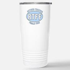 Retired Teacher IV Travel Mug