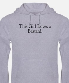 This Girl Loves a Bastard Light Pullover Hoodie