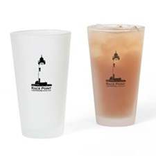 Race Point Lighthouse. Drinking Glass