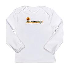 Race Point Beach MA. Long Sleeve Infant T-Shirt