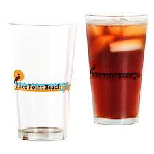 Race Point Beach MA. Drinking Glass