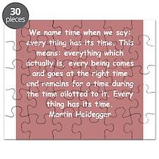 martin heidegger Puzzle