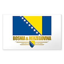 """Bosnia & Herzegovina Flag"" Decal"