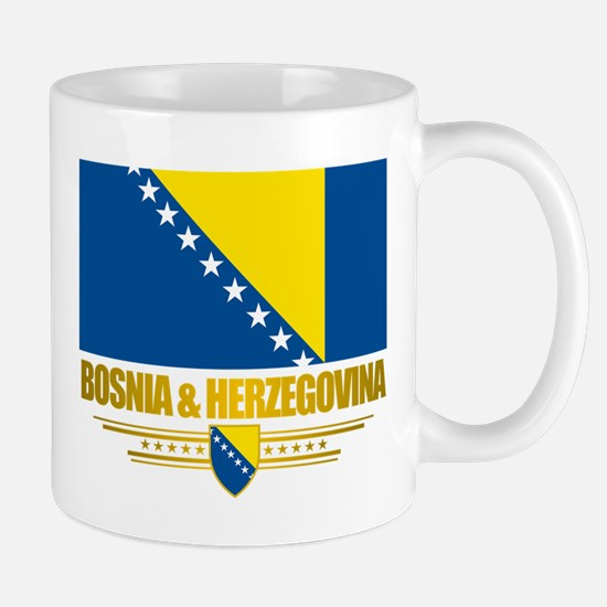 """Bosnia & Herzegovina Flag"" Mug"