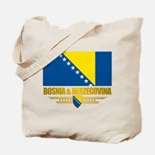 """Bosnia & Herzegovina Flag"" Tote Bag"