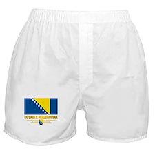 """""""Bosnia & Herzegovina Flag"""" Boxer Shorts"""