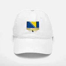 """Bosnia & Herzegovina Flag"" Baseball Baseball Cap"