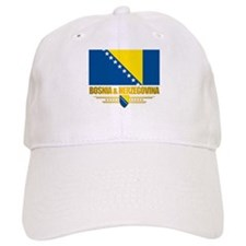 """Bosnia & Herzegovina Flag"" Baseball Cap"