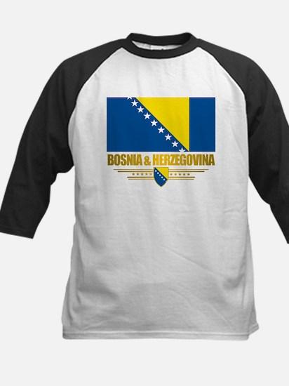 """Bosnia & Herzegovina Flag"" Kids Baseball Jersey"