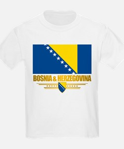 """Bosnia & Herzegovina Flag"" T-Shirt"