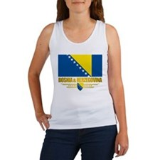 """Bosnia & Herzegovina Flag"" Women's Tank Top"