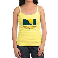 """Bosnia & Herzegovina Flag"" Ladies Top"