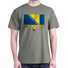 """Bosnia & Herzegovina Flag"" T-Shirt"
