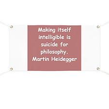 martin heidegger Banner