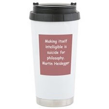 martin heidegger Travel Mug