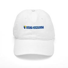 """""""Bosnia & Herzegovina COA"""" Baseball Cap"""
