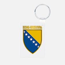 """Bosnia & Herzegovina COA"" Keychains"