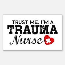 Trauma Nurse Decal