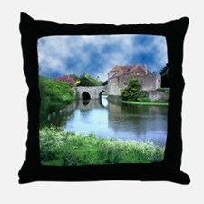 Leeds Castle 03 - Throw Pillow