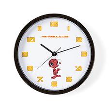 Red N.E.L.F Wall Clock