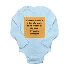 nietzsche gifts and apparel. Long Sleeve Infant Bo